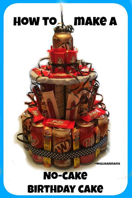No-cake birthday cake