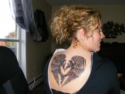 fallen angel tattoos. Angel Tattoos Desings 4 Girls