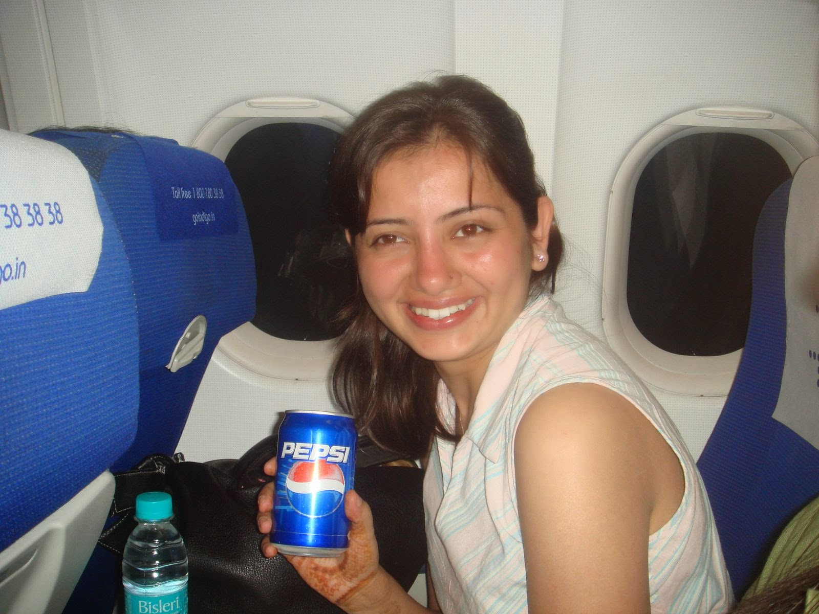 Beautiful Indian Local Girls On Aeroplan Photos