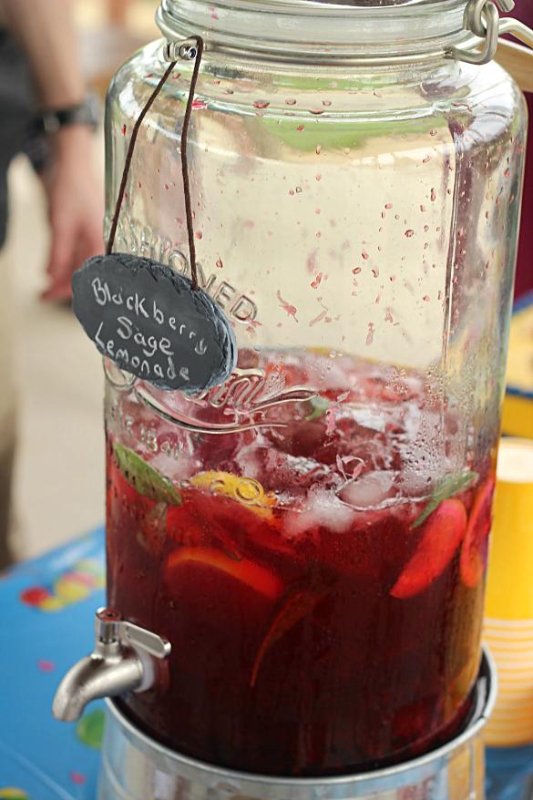 Blackberry Sage Lemonade - Whats Cooking Love?