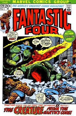 Fantastic Four #126