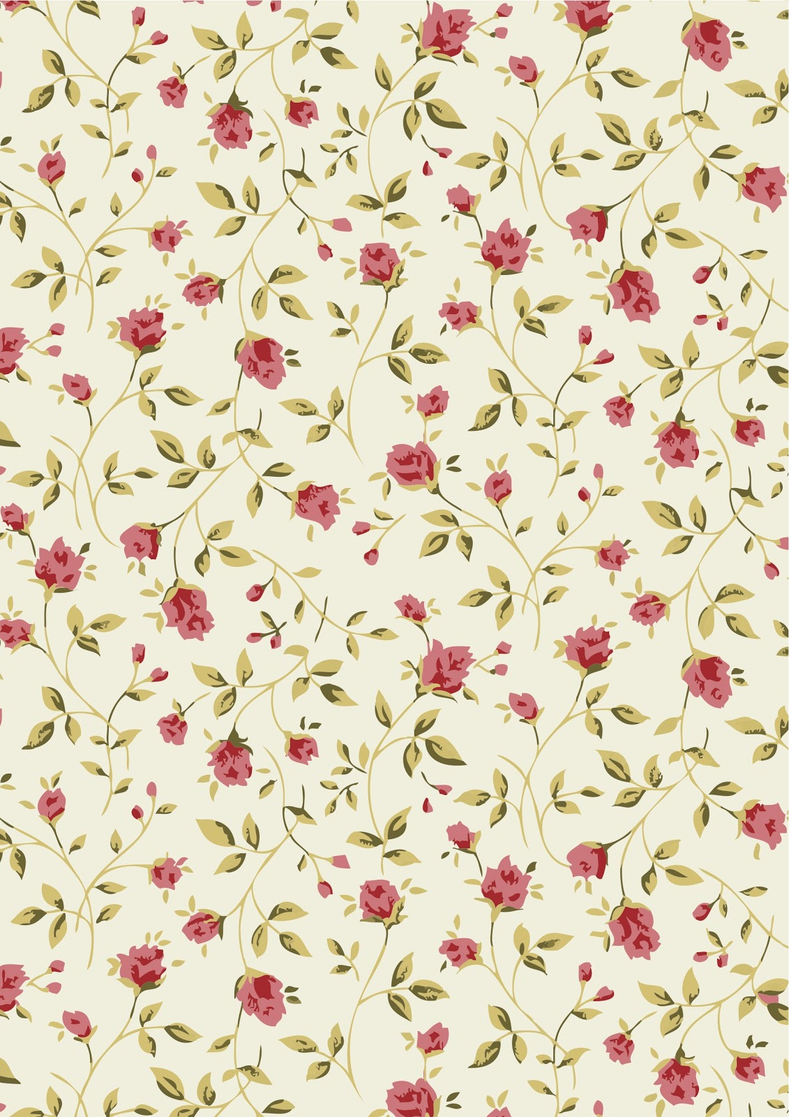about floral vintage patterns - photo #20