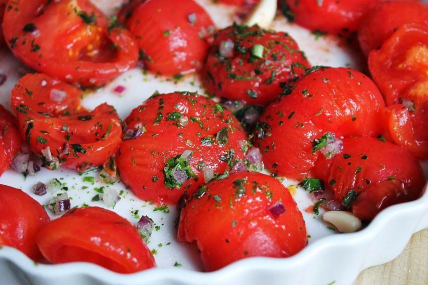 ofengeröstete Tomaten