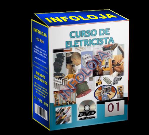 Curso de Eletricista 3 DVDs - Clique na Imagem abaixo para mais detahes