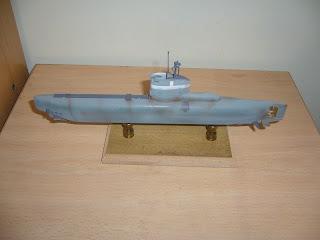 modell U-Boot-Klasse XXIII 1:144