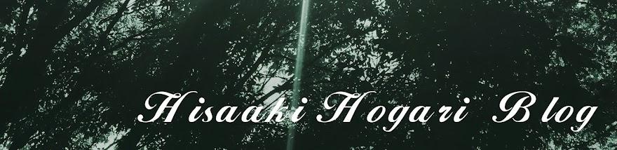 Hisaaki Hogari Blog