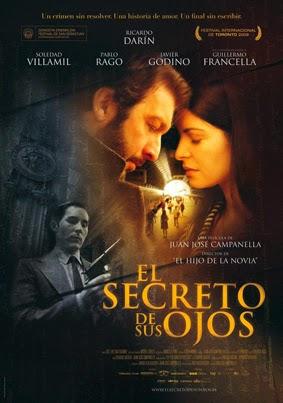 El secreto de sus ojos pelicula en dvd de 2009