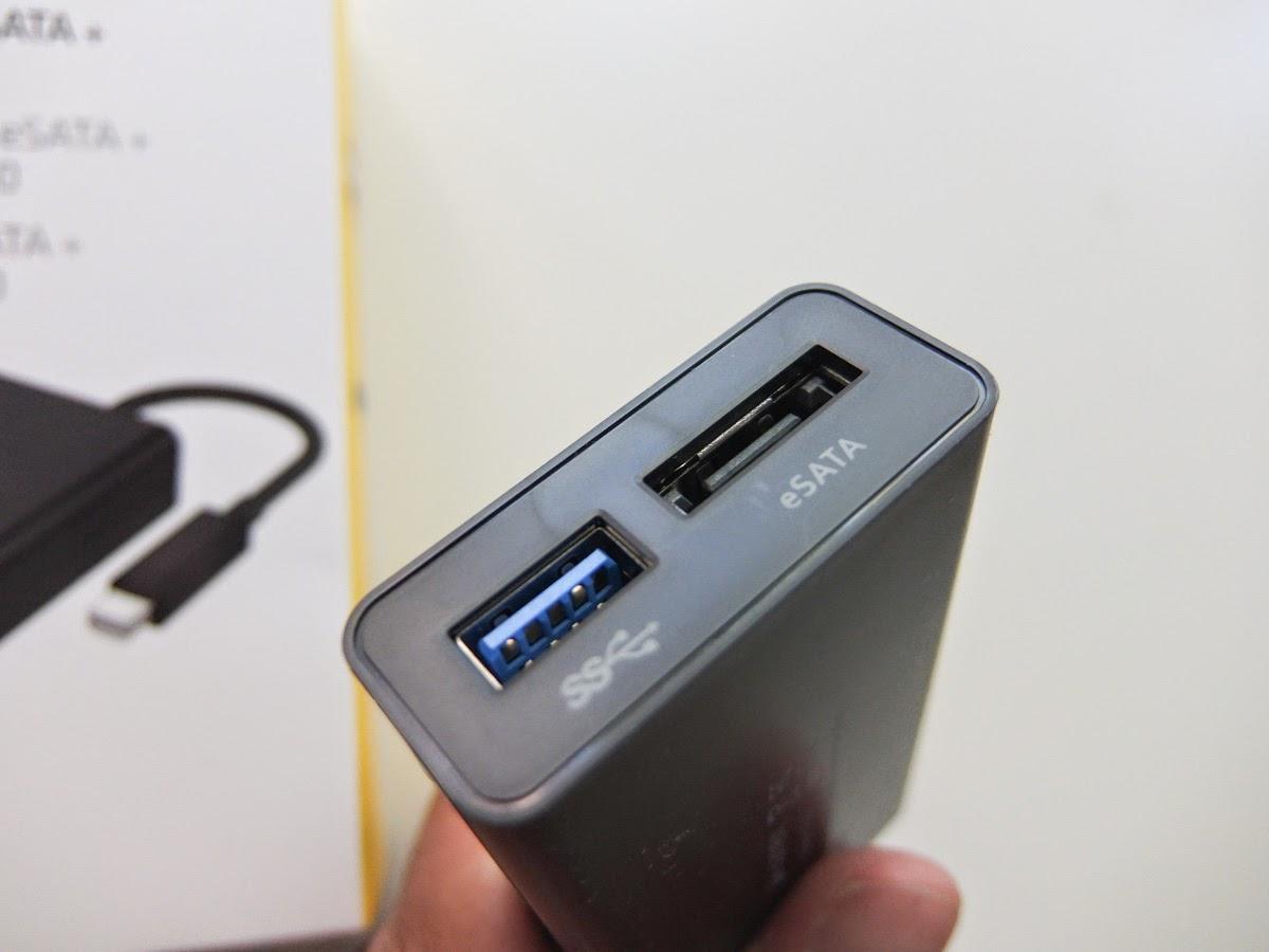 Fortysomething Geek: Reviewed: Kanex Thunderbolt to eSATA + USB 3.0 ...