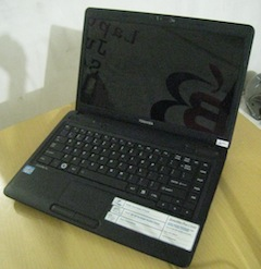 jual toshiba satellite c640 second