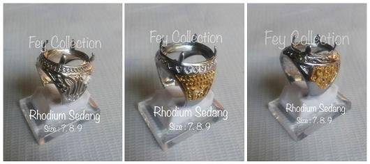 Ikat Cincin Rhodium