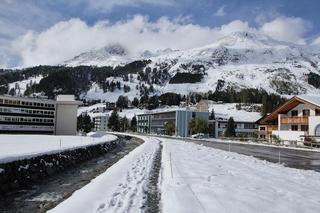 Narciarski kurort Davos, Szwajcaria