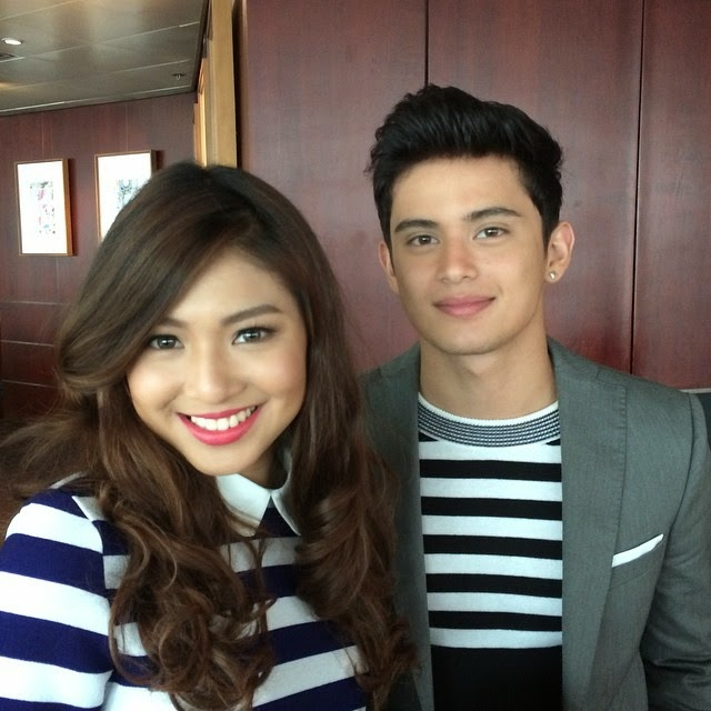 Nadine Lustre and James Reid sign contract with ABS-CBN
