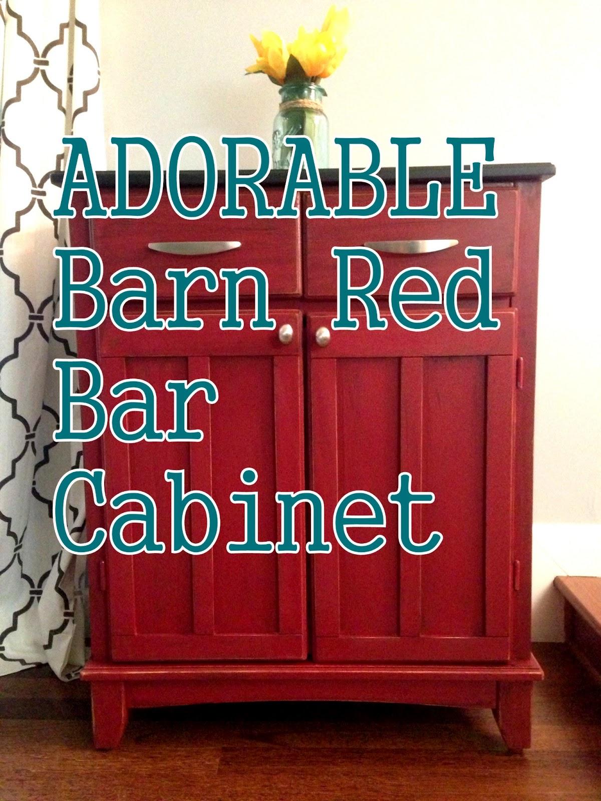 olive + hazel decor co.: Adorable Red Distressed Storage ...