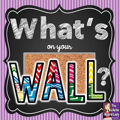 http://mrskingrocks.blogspot.com/2015/08/whats-on-your-wall.html