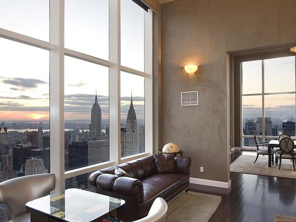 New york city luxury manhattan penthouses derek jeter new for Luxury penthouses in manhattan
