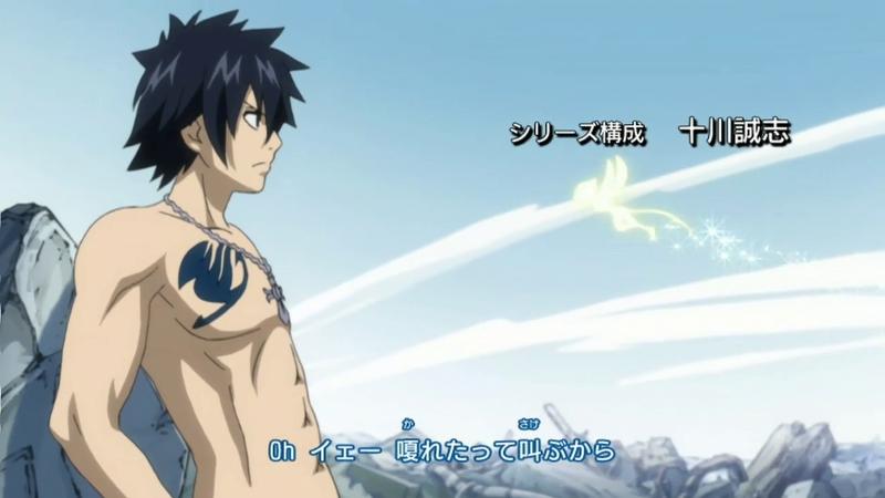 Fairy Tail Anime Gray Fullbuster