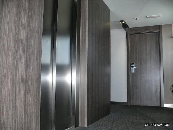 puerta dayfor ha equipado con carpinteria tecnica de su