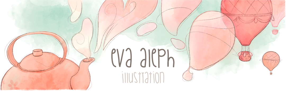 Eva Aleph - Illustration Blog (English)