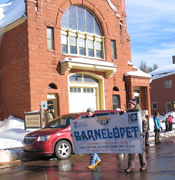 Barneløpet kids' ski race is Feb. 7