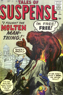 Tales of Suspense #7, Molten Man-Thing