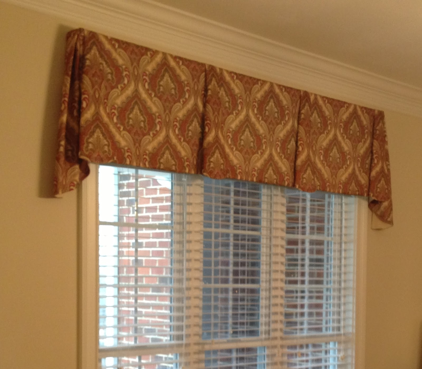 Accents on windows tailored valances for Window valance