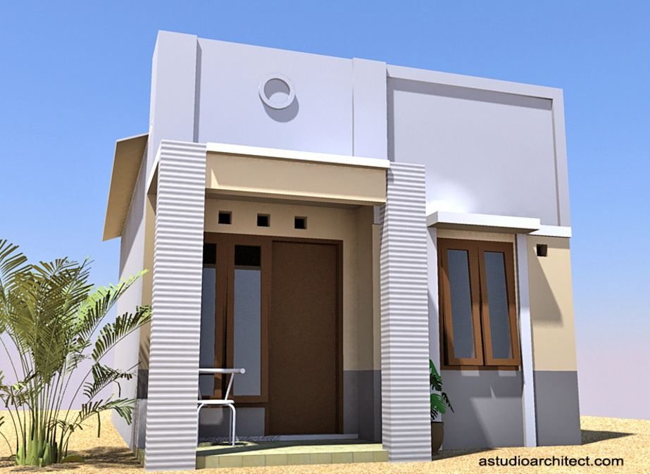 model rumah sederhana modern unik