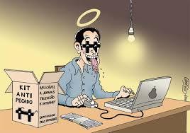 Cuidado com os pecados virtuais