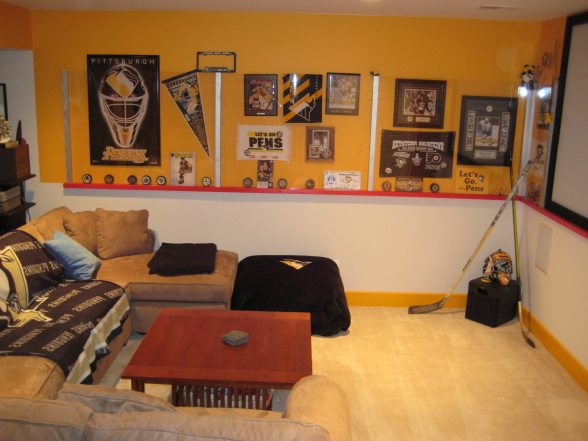 Awesome Pittsburgh Penguins Bedroom Decor