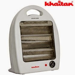 Groupon: Buy Khaitan Halogen Heater KRH116Q Rs. 940