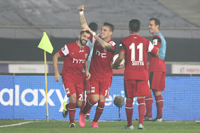 NorthEast United drew against Delhi Dynamos