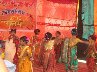 Aarambh children participate in a dance show, Panvel