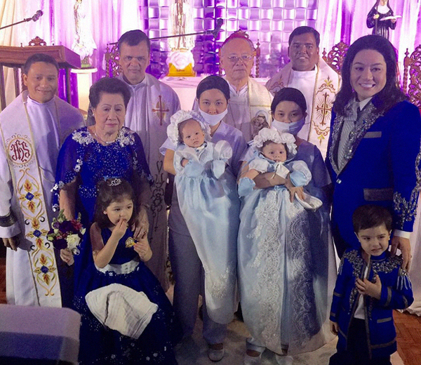 Joel Cruz Twins christening YAYA with Hairnet/Mask hits the Web