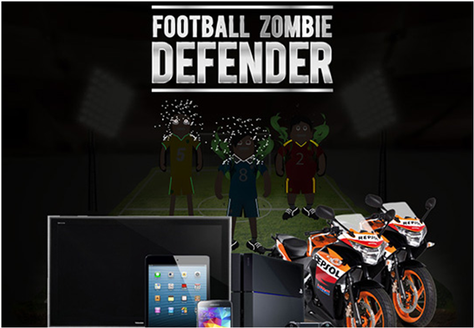 Rexona & Clear 'Football Zombie Defender' Contest