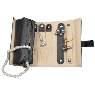 Leatherette Jewelry Roll