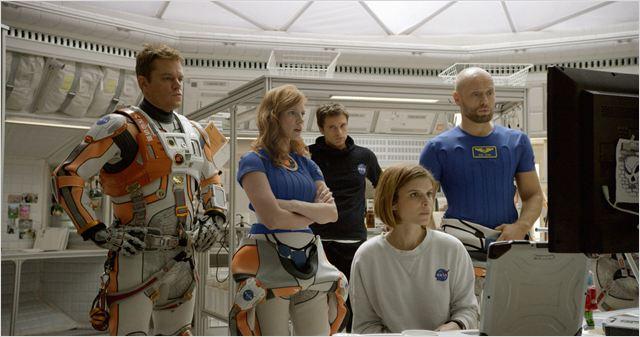 """El reparto principal de """"Marte"""" (The Martian)"""