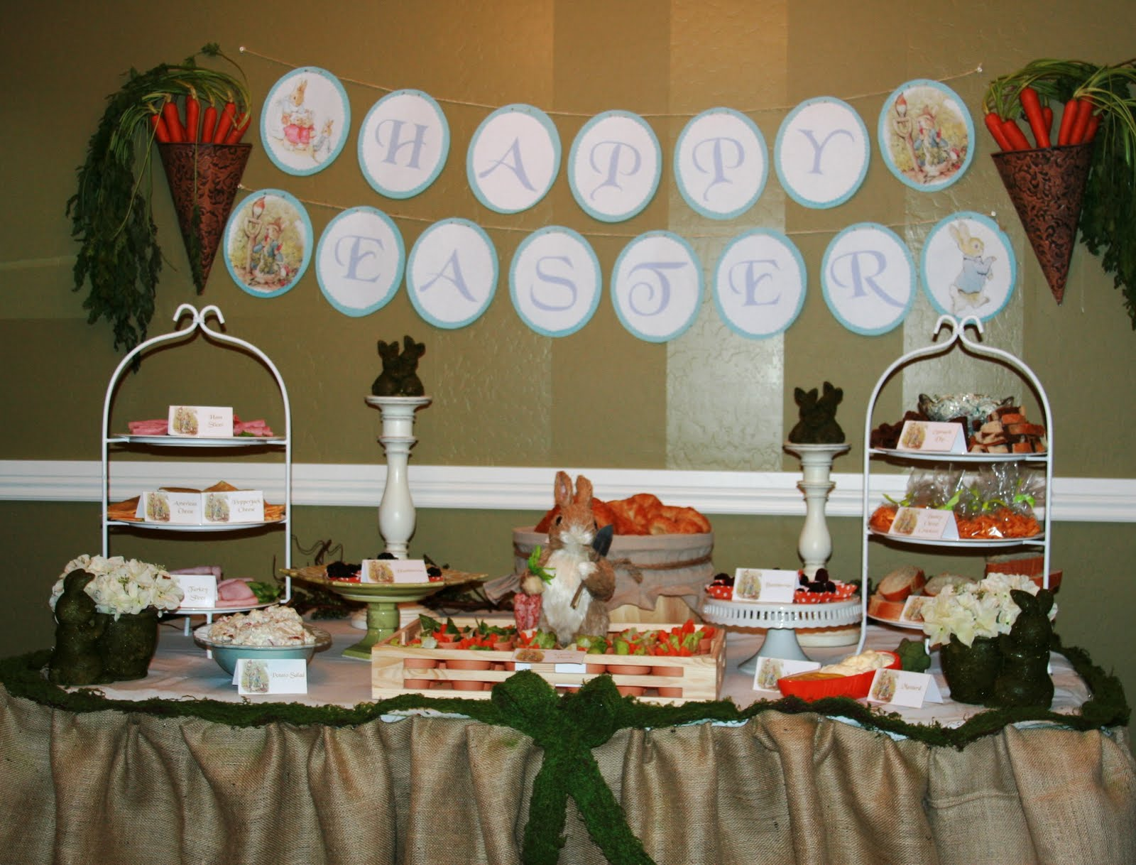 Events by Tiffany and Cristen: Peter Rabbit Egg Hunt Party