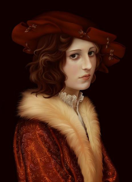 Stunning Women Painting With Airbrush