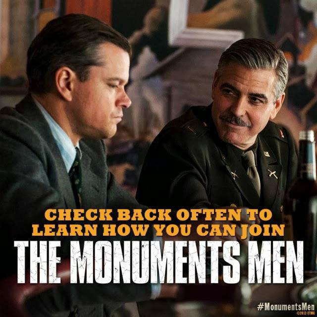 """Imágenes de la película """"The Monuments Men"""""""
