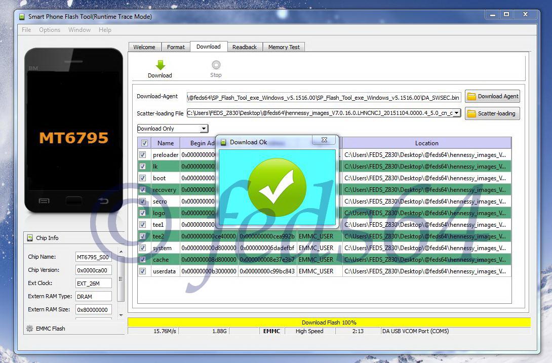 Software Huawei Y511 Firmware