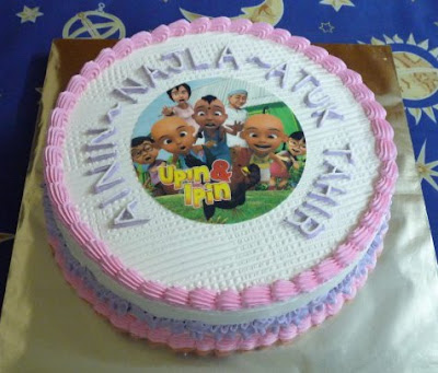 Upin and Ipin Cakes
