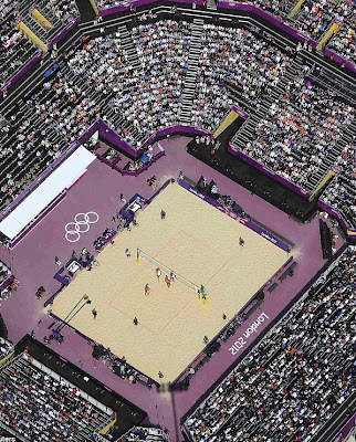 beach voleyball stadium london