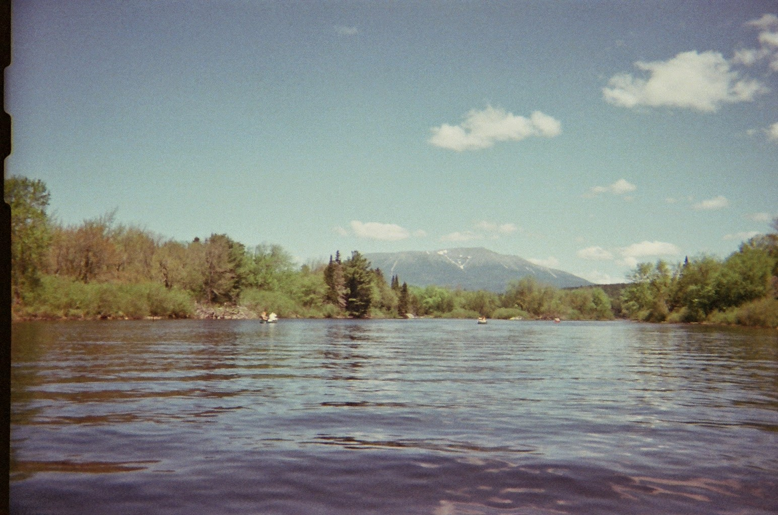 Canoeing on Debsconeag Lakes