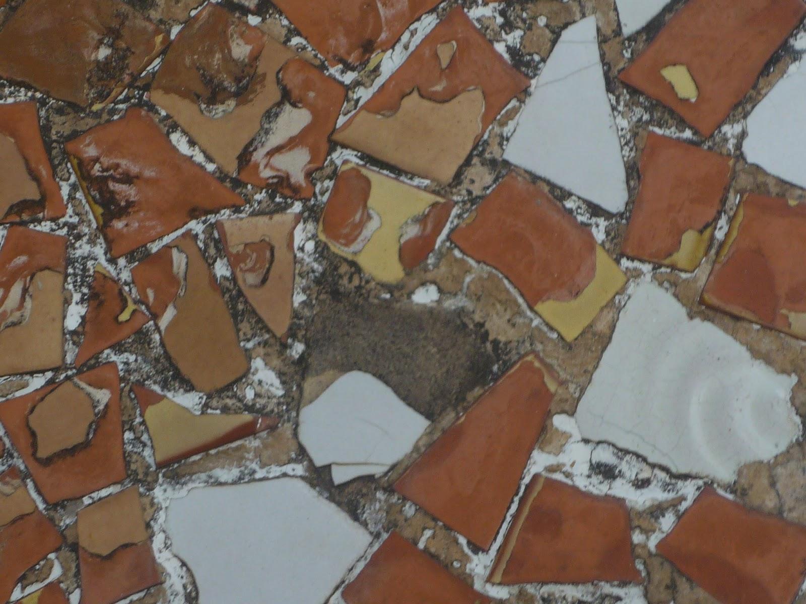 Ocres, Trencadís, Casa Batlló (Beatriz 2009)