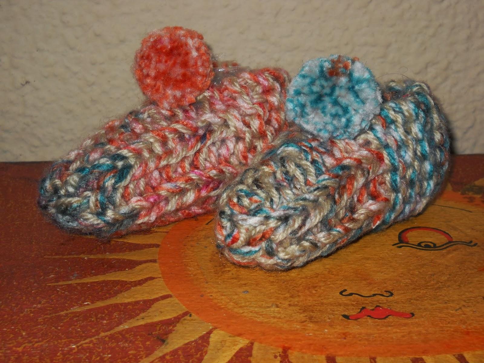 Las labores de adriana zapatillas para andar por casa - Zapatillas andar por casa originales ...