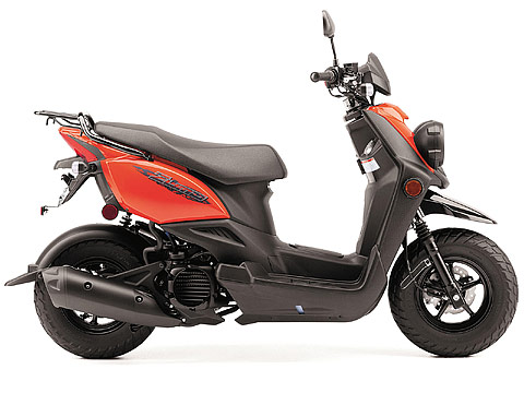 2014 Yamaha Zuma 50F Scooter pictures , 480x360 pixels