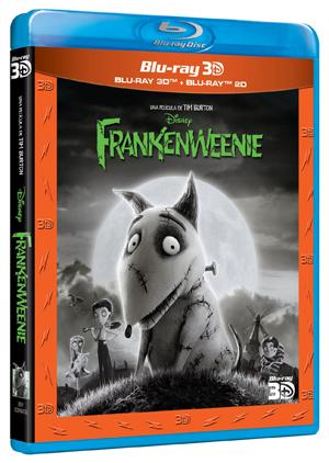 Frankenweenie - Blu Ray 3D