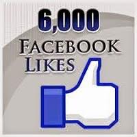5 prémios para festejar 6000 likes