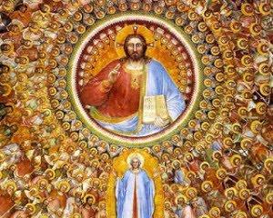 Iluminura do Cristo Cósmico