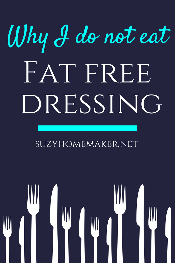 What not to eat on a fat free diet menu