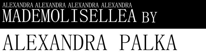 ALEXANDRA PALKA BLOG - CHECK THIS